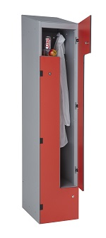 Z Lockers with Solid grade Laminate Doors
