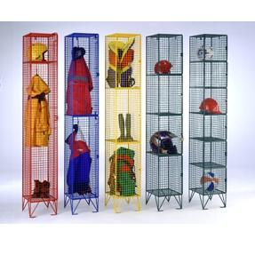 3 compartments wire mesh