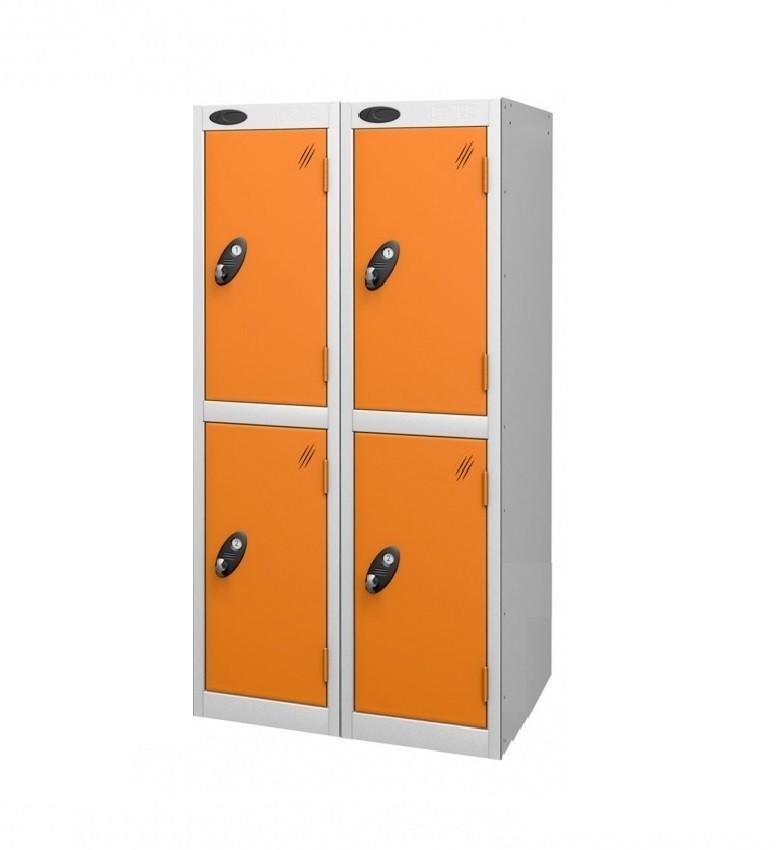 Two Doors Low Locker - Nest of 2