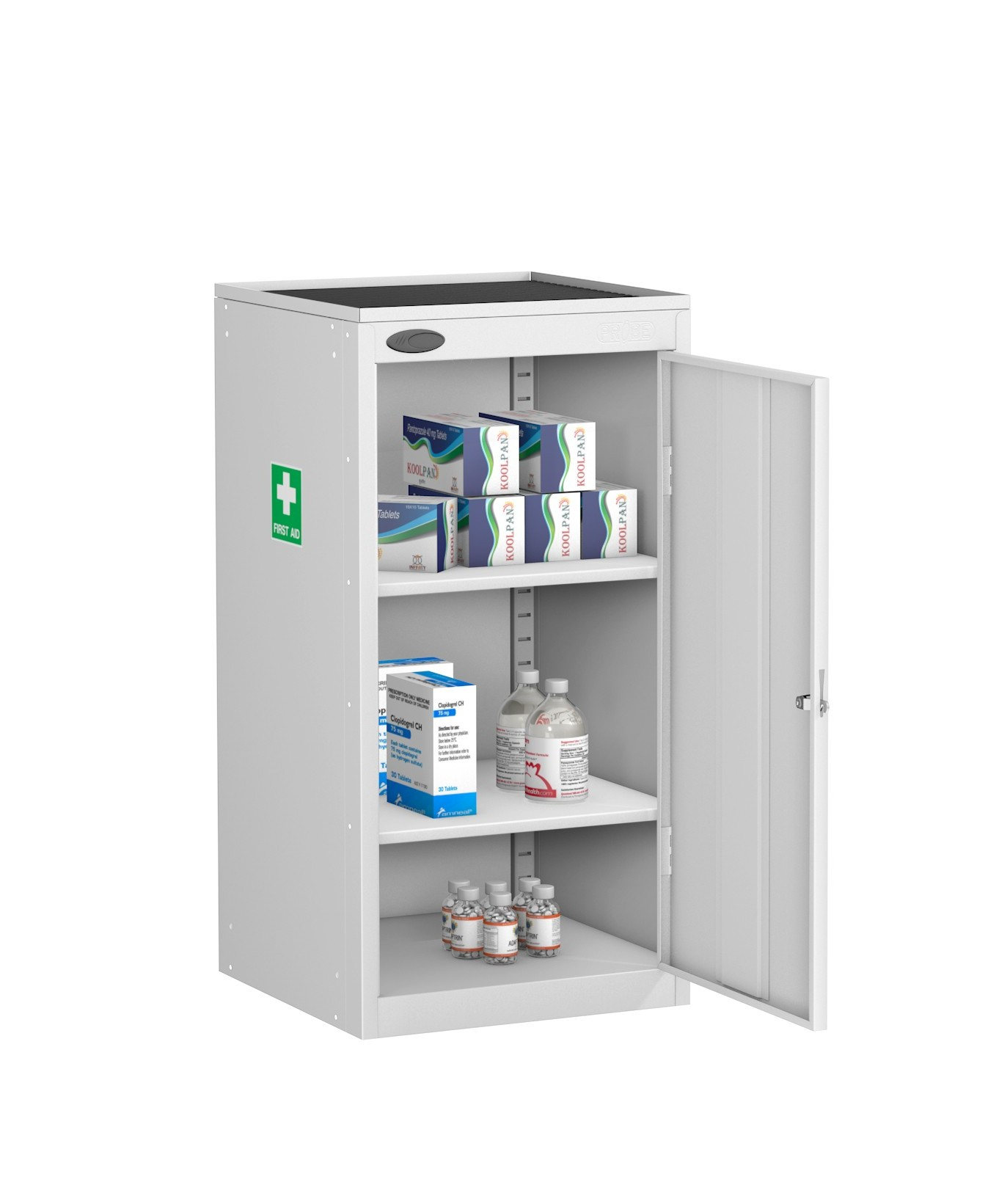 Small Medical Cabinet Dished Top
