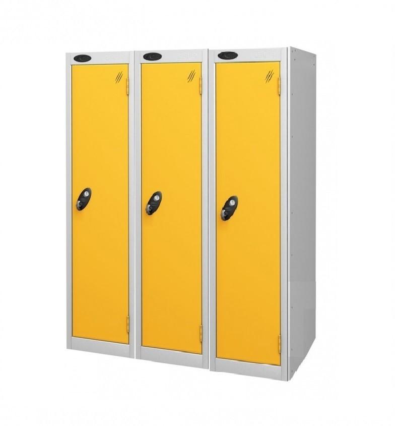 One Door Low Locker - Nest of 3