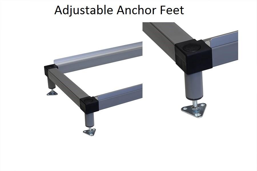 Adjustable Feet 160mm high locker Stand