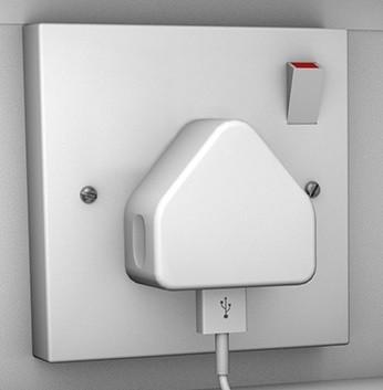Single Door 10 Shelf Mobile Phone Charging Locker
