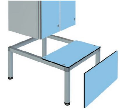 350mm High Seat Bench Stands for Zen Box