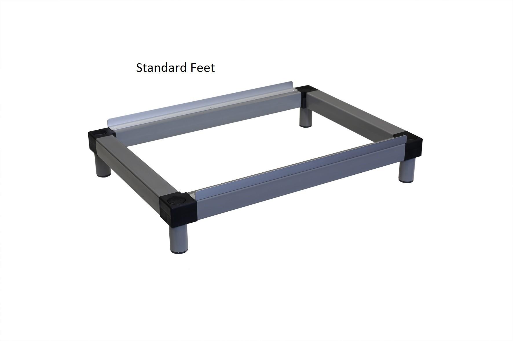 Standard Plain Feet 160mm high locker Stands