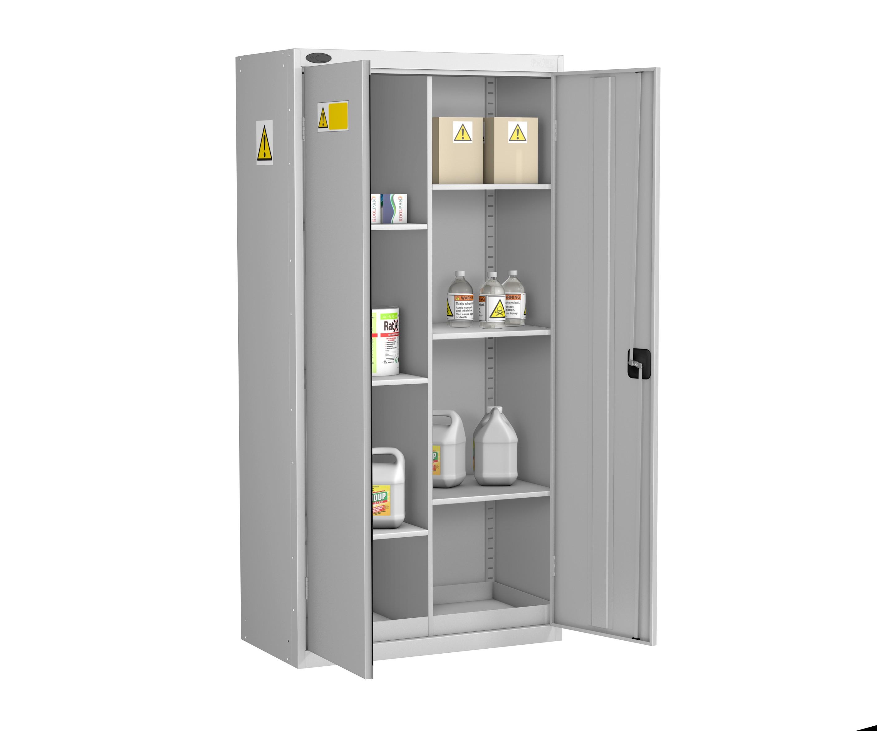Eight Compartment COSHH Cabinet