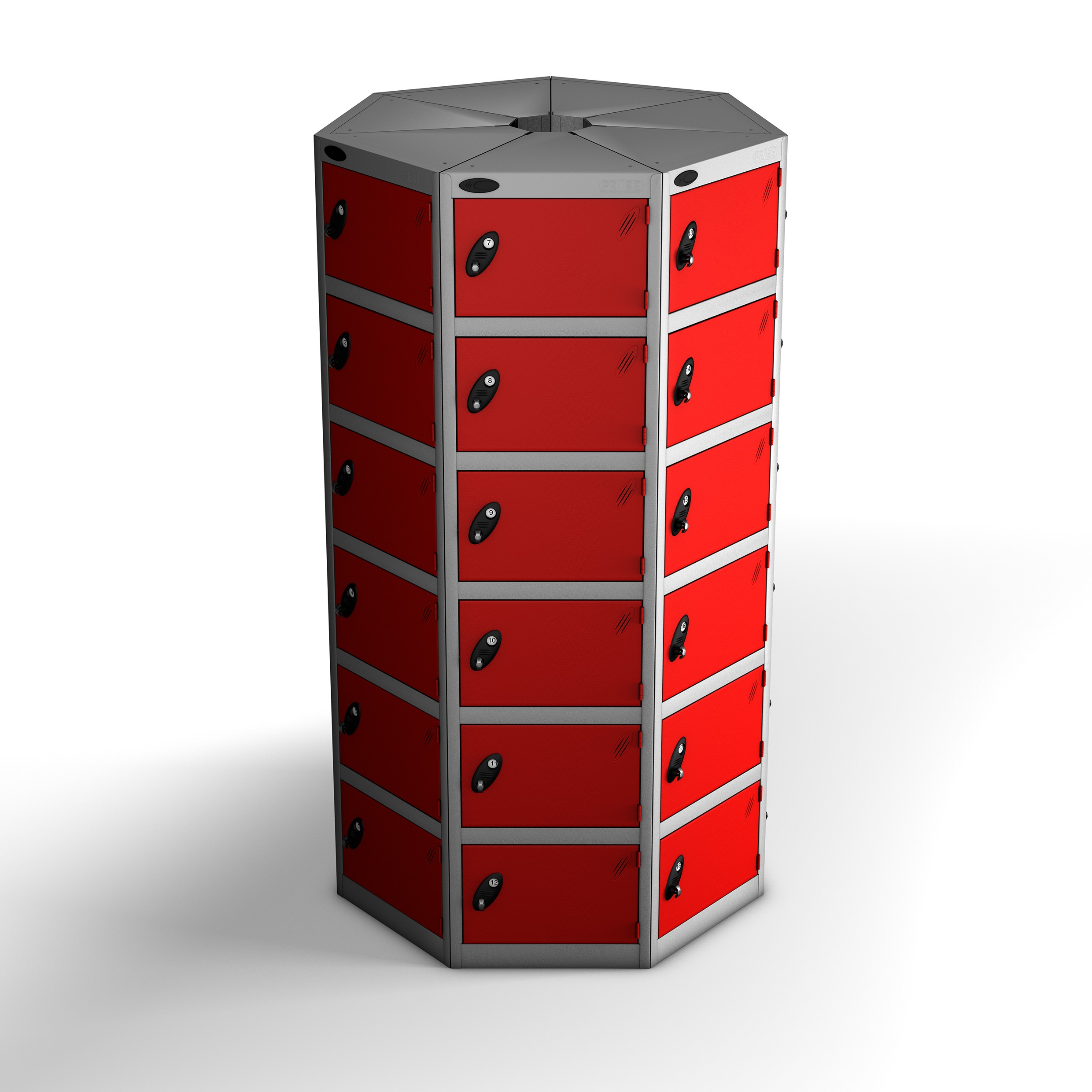 Fourty Two Doors Seven Seed Pod Lockers