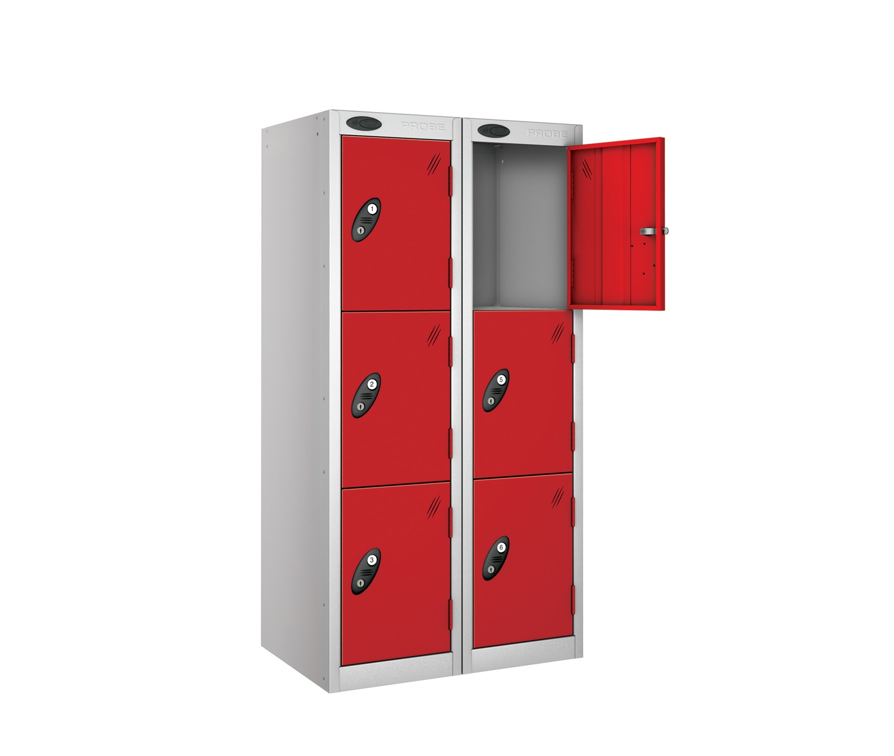 Three Doors Low Locker - Nest of 2