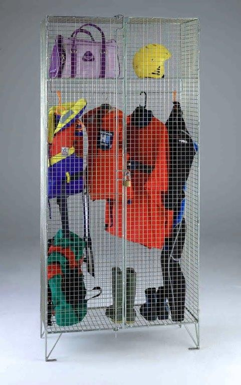 Wire Mesh Wardrobe Cupboard