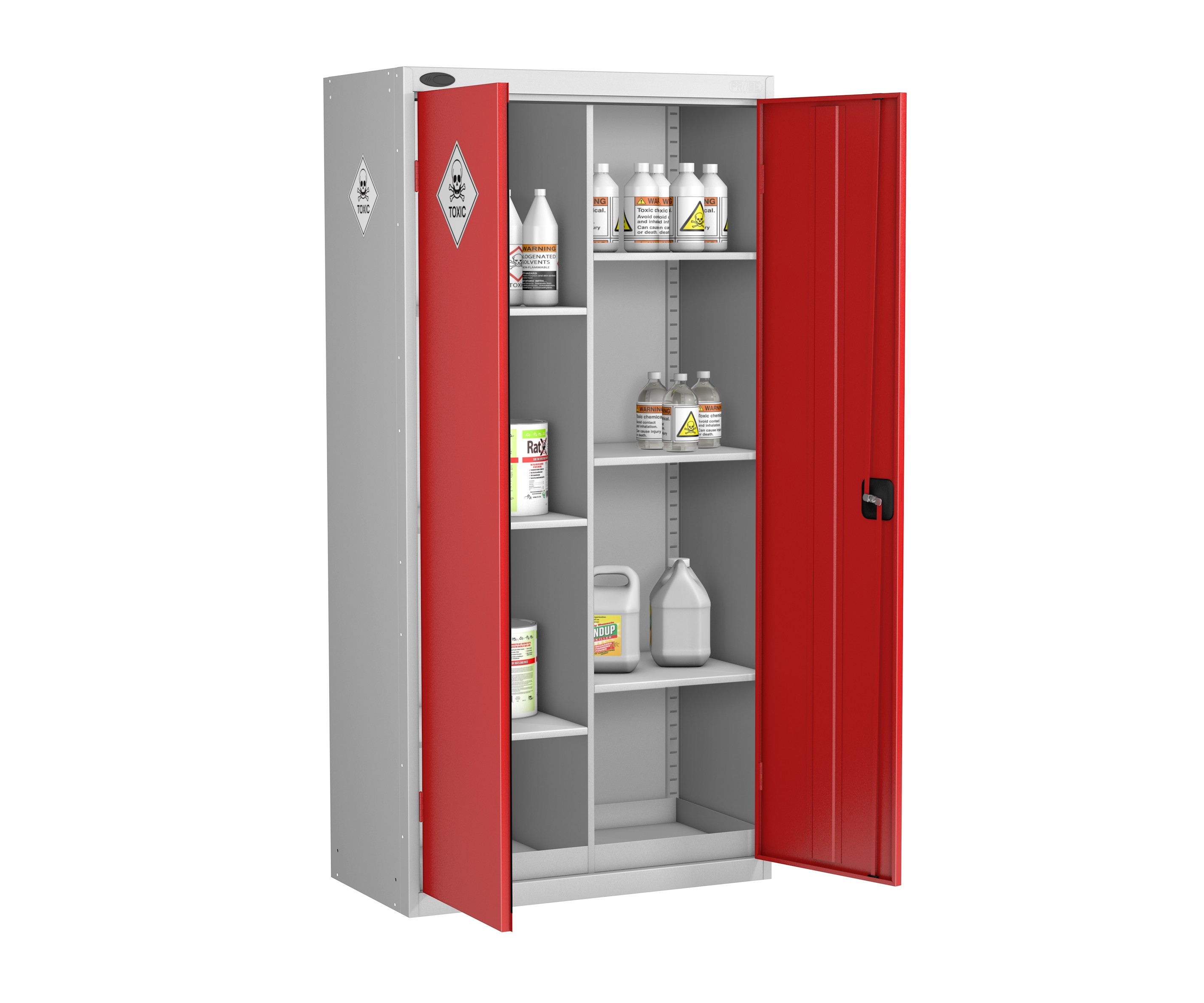 8 Compartments Hazardous Cabinet