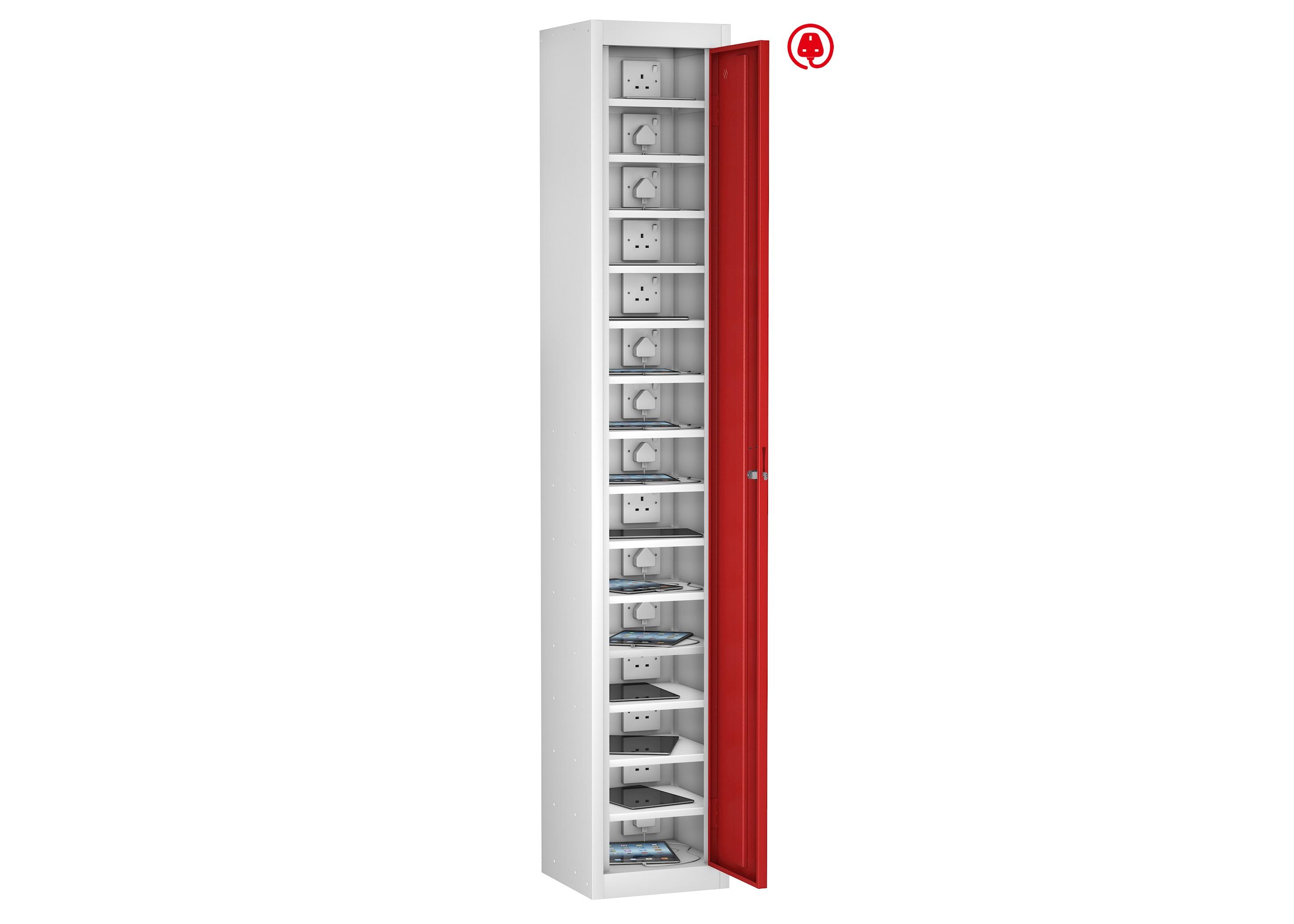 School Single Door 15 Shelf Mobile Phone Charging Locker