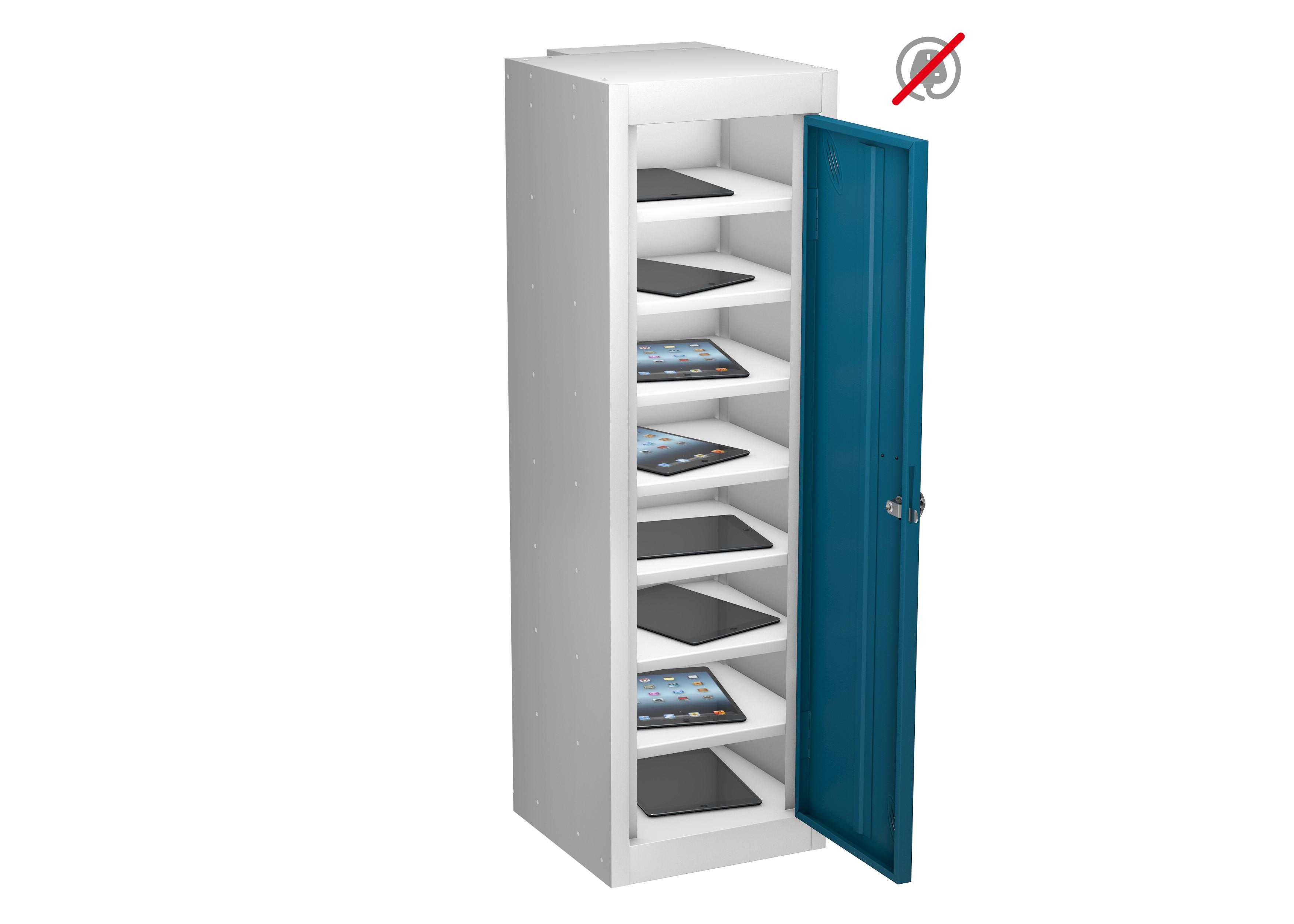 School Single Door 8 Compartment Low Locker