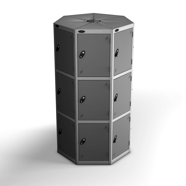 Twenty One Doors Seven Seed Pod Lockers