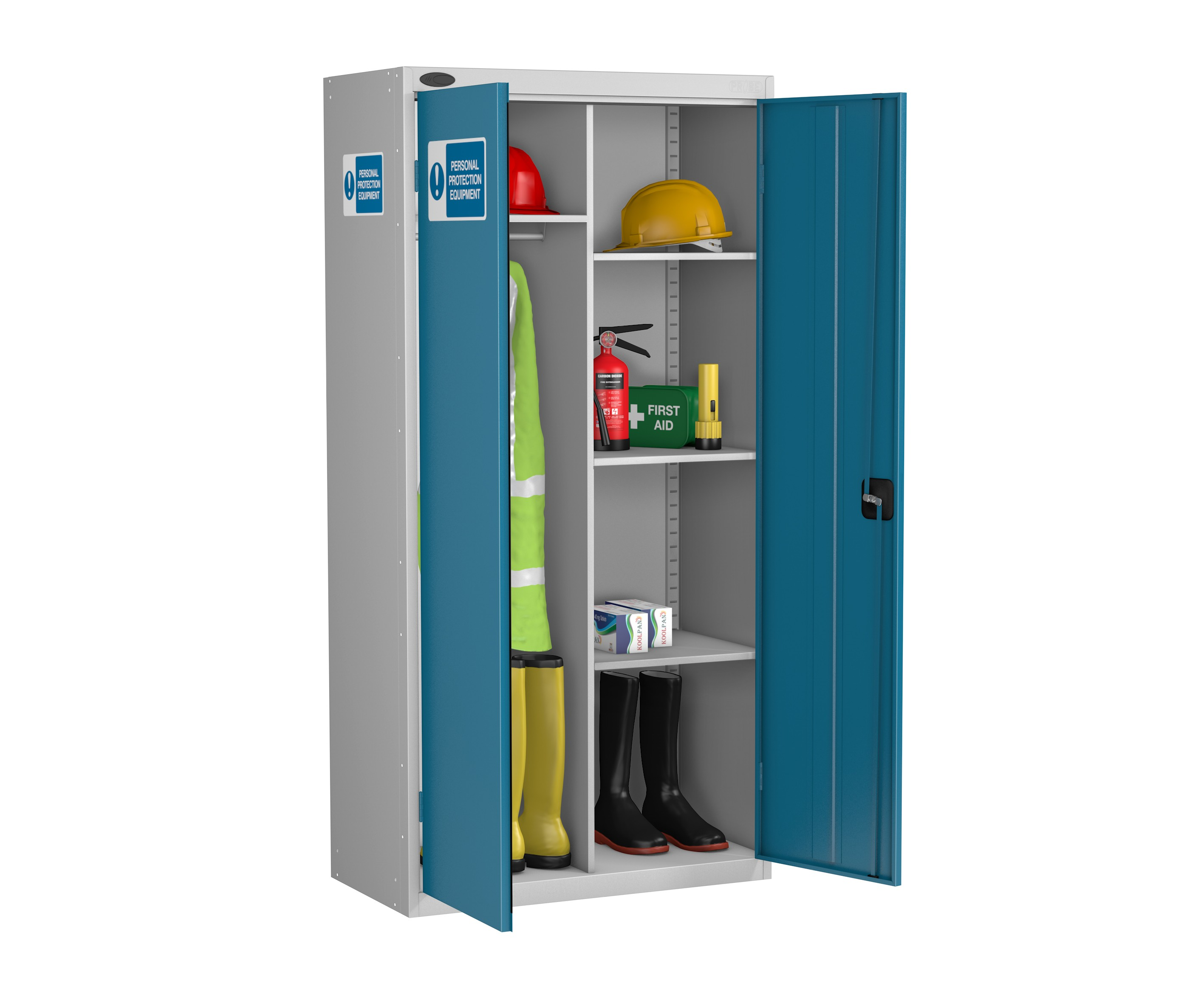 Eight Compartment PPE Cabinet