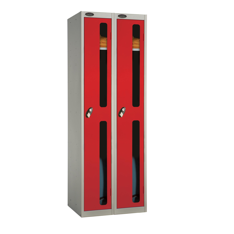 One Door Vision Panel Locker - Nest of 2