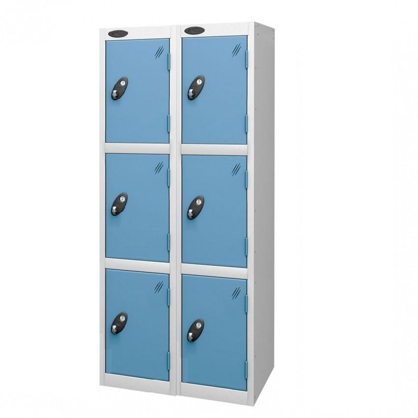 Three Doors Medium Locker - Nest of 2