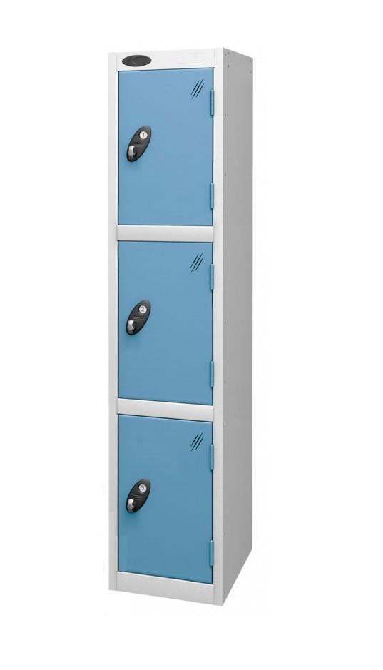 Three Doors Medium Locker