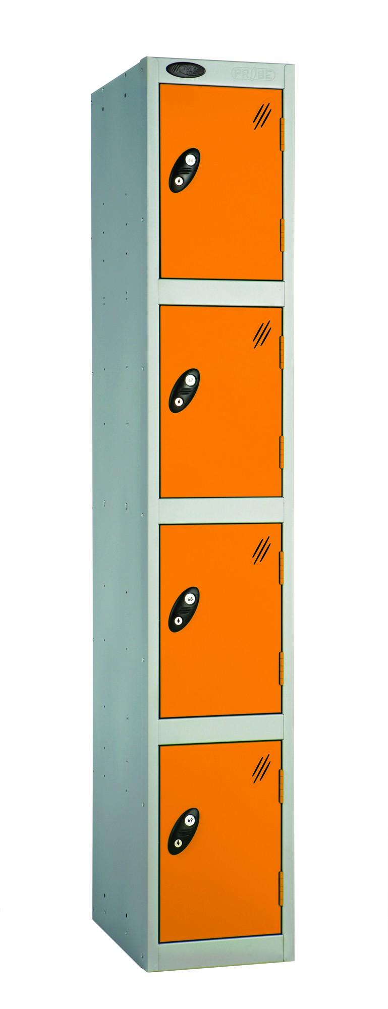 Colour Range Four Doors Locker