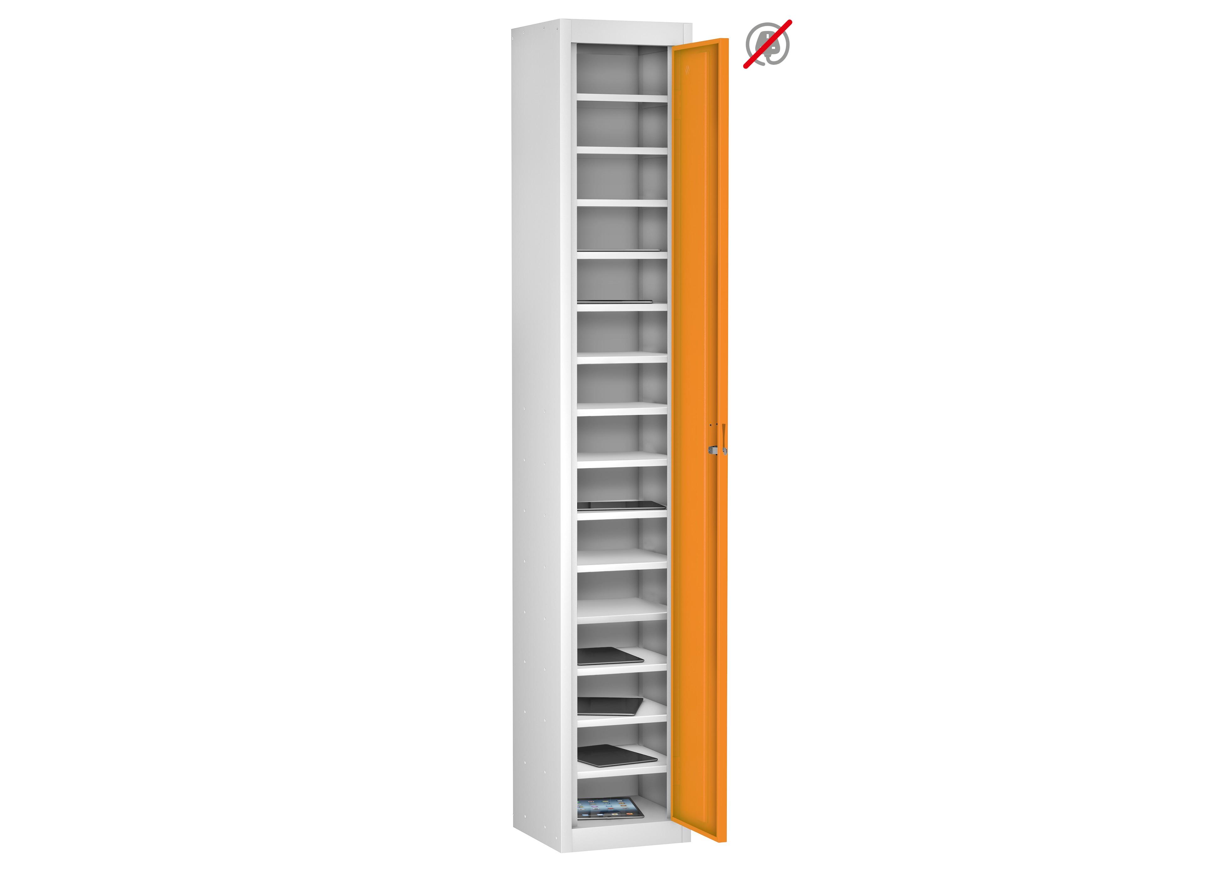 School Single Door 15 Compartment Non-Charging Locker