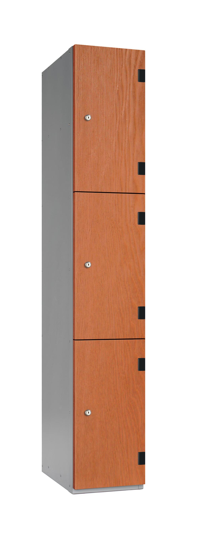 3 Tiers Overlay Laminate School Locker